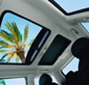 Polycarbonate applied automobile interior materials