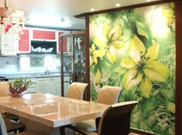 PVC used flame retardant wallpaper