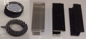carbon nano tube coated plastics with high temperature resistance