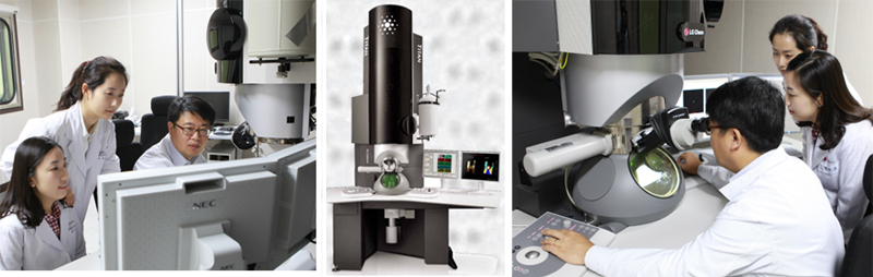 The feature of researchers who operate analytical instruments in a systematic and efficient way